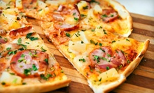$17 for Five Visits for One Gourmet Slice of Pizza and One Soda Each at Ali Baba Pizza ($34.05 Value)