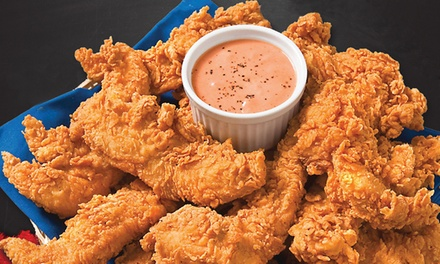 $12 for Two Groupons, Each Good for $10 Worth of Food at Krispy Krunchy Chicken ($20 Total Value)