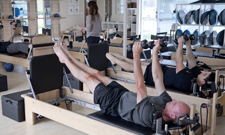 $45 for Five Pilates Classes at Club Pilates San Diego ($85 Value). 13 Locations Available.