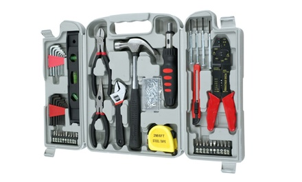130-Piece Hand-Tool Set with Carrying Case