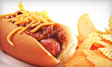 Hot Dogs, Chips, and Milk Shakes for Two or $5 for $10 Worth of American Food at T's Cones & Coneys