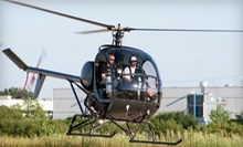 $149 for a Helicopter Flying Lesson and Flight from Bachman Aero ($295 Value)