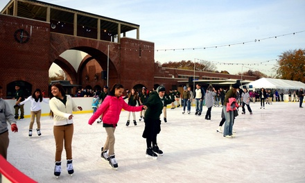 Ice Skating and Skate Rental for Two at McCarren Rink (Up to 50% Off). Three Options Available.