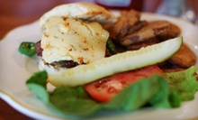 American Food and Drinks for Two or Four at Chef Mike's Charcoal Grill (Half Off)