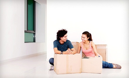 $240 for Four Hours of Moving Services with One Truck and Three Movers from Moving &amp; Storage Services ($537.60 Value)