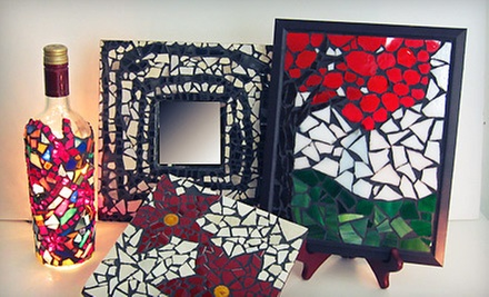 One or Three Three-Hour Mosaic Classes for at BonTon Designs (Up to 67% Off)