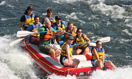Weekend Half- or Full-Day Rafting Trip and Hot Barbecue Lunch from Action Whitewater Adventures (Up to 46% Off)