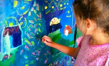 C$25 for Two 90-Minute Kids' Art Workshops at 4Cats Arts Studio (C$50 Value)