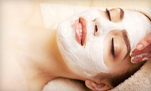 One or Three Deep-Cleansing Facials at Aspara Day Spa & Threading (Up to 52% Off)