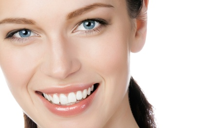 In-Office Zoom! Whitening or a Dental Exam, X-rays, and Cleaning at Premier Dental & Orthodontics (Up to 90% Off)