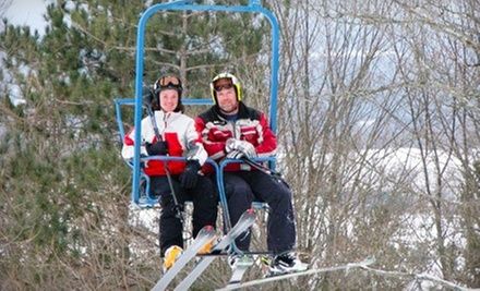 One Junior or Adult All-Day Ski-Lift Pass at Snow Ridge Ski Resort (Up to 51% Off)