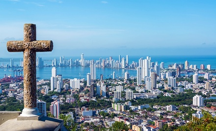 groupon daily deal - 7-Day Colombia Vacation with Airfare from Pacific Holidays; Price/Person Based on Double Occupancy