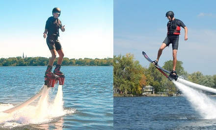 Up to 56% Off Flyboarding Experience at Just Add Water Flyboard