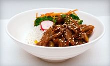 $9 for $18 Worth of Contemporary Asian Fare at Chan Bistro