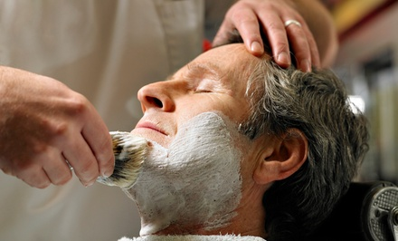 Men's Grooming Services at Roosters MGC of Woodbury (Up to 53% Off). Three Options Available.