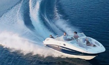 $169 for Four-Hour Boat Rental for Four from Carefree Boat Club ($435 Value)