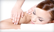 One or Two 60-Minute Massages and One Optional Chiropractic Exam with Two Adjustments at SoulWorks (Up to 82% Off)