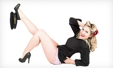 $129 for a One-Hour Pinup Photo Session with Makeup, Hairstyling, and Prints at Heads & Tails Photography ($300 Value)