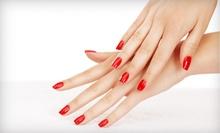 One or Three Shellac Manicures at Glo Spa (Up to 59% Off)
