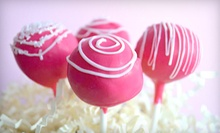 One or Two Dozen Cake Pops from Cake Pop Charm in Plainfield (Half Off)