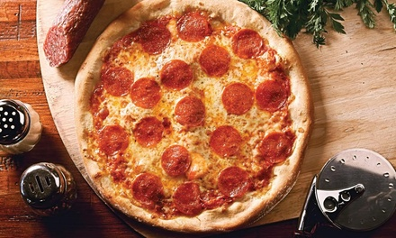 Pizza and Appetizer Packages at Russo's New York Pizzeria (Up to 50% Off). Four Options Available.