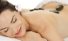 60-Minute Himalayan Detox Stone Massage Massage, Body Scrub, or Both at Naples Wellness Day Spa. (Up to 57% Off)