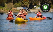 $23 for a Two-Hour Kayak, Canoe, Standup-Paddleboard, or Aqua-Cycle Rental from Carlsbad Lagoon (Up to $50 Value)