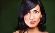 Haircut, Blow-Dry, and Moisture Treatment with Optional Highlights from Angela Molina at iStudio Salons (Up to 52% Off)
