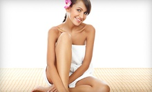 Pumpkin-Spice Body Scrub, Facial, or Body Wrap at La Peau Vie (Up to 72% Off)