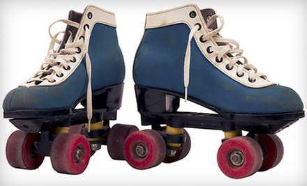 $10 for Roller-Skating for Two with Skate Rentals, Candy Bars, and Drinks at Star Skate (Up to $20 Value)
