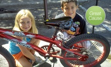 $10 Donation to Help Buy Bikes and Helmets for Kids