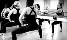 5 or 10 BarreAmped Classes at Purely E Barre + Pilates (Up to 56% Off)