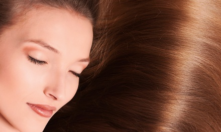 $32 for a Haircut, Deep Condition, and Blow-Dry at SJ Design Hair Studio ($64 Value)