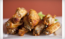 Bar and Grill Food at Bottoms Up Bar & Grill (Up to 53% Off). Two Options Available.