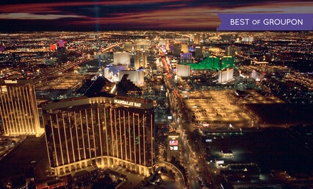 Helicopter Tour of the Strip for Up to 3 or Tour for Up to 3 with Magic Show from 702 Helicopters (Up to 68% Off)