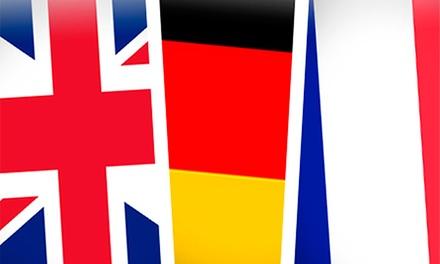 French Teaching: 3, 6 ou 12 meses de curso online de inglês, francês ou alemão com certificado desde 6,90€