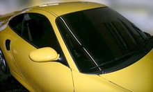 Car Tinting for Four Side and One Rear Window or Two Front Windows at BG Window Tint (Half Off)