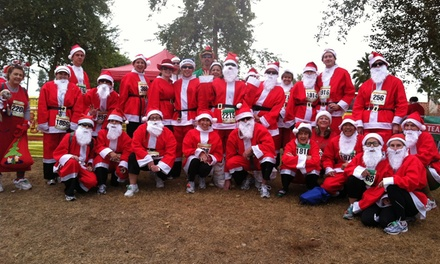 $40 for Entry for Two to Team Santa Paws 1.2K Run from FieldWorks Events & Marketing Inc. ($60 Value)
