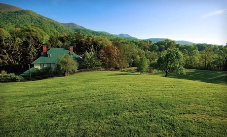 Stay at Honey Hill Inn and Cabins in Asheville, NC