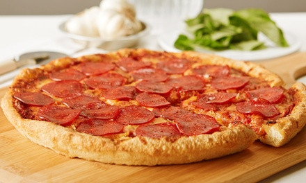 $25 for Two Large Pizzas at zpizza