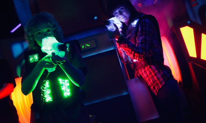 Quasar - Hemel Hempstead: Laser Tag Arena Annual Membership for Two with One Free Game Each at Quasar (50% Off)