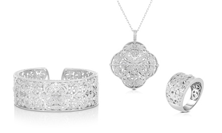 1/4–1/2 CTTW Diamond Fashion Ring, Pendant, or Bangle from $79.99–$159.99