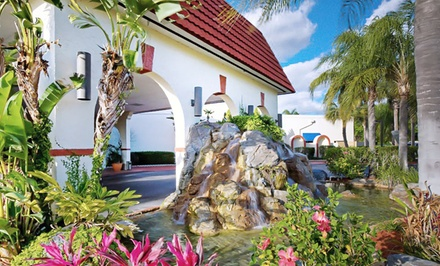 groupon daily deal - Stay at Maingate Lakeside Resort in Kissimmee, FL, with Dates into July