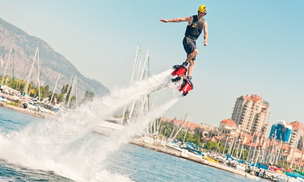 30-Minute Flyboard Flight from Okanagan Flyboard (Up to 38% Off). Two Options Available.