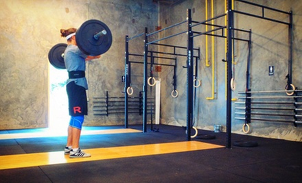 One Month of Unlimited CrossFit Classes for One or Two at CrossFit 704 (Up to 57% Off)