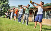 $65 for a Four-Week Power Cardio 30 Kettlebell Interval-Training Program at Punch Kettlebell Gym ($309 Value)