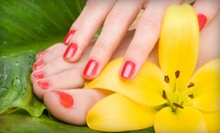Olive Mani-Pedi, Shellac Manicure and Olive Pedicure, or Shellac Mani-Pedi from Brandi G. Lam (Up to 59% Off)