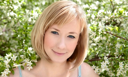 Haircut with Optional Partial or Full Highlights from Alexis Engel at The Harrison Hair House (Up to 52% Off)