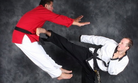 1 or 3 Months of Adult Self-Defense or Martial-Arts Classes at New Edge Martial Arts (Up to 79% Off)
