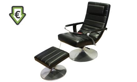 Cadeira de massagens com repousa-pés por 179e